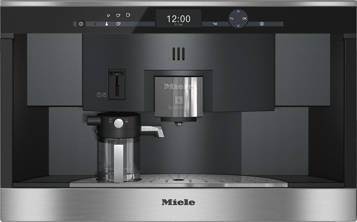 Cva 6431 built in coffee machine with nespresso system for uncomplicated convenience and enjoyment