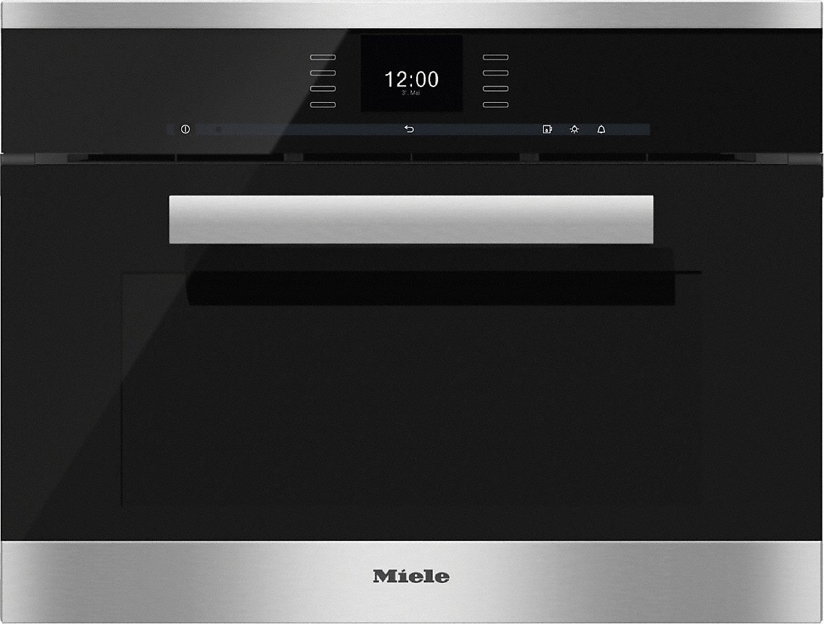 miele dgc 6600 xl steam combination oven with fully fledged oven function. Black Bedroom Furniture Sets. Home Design Ideas