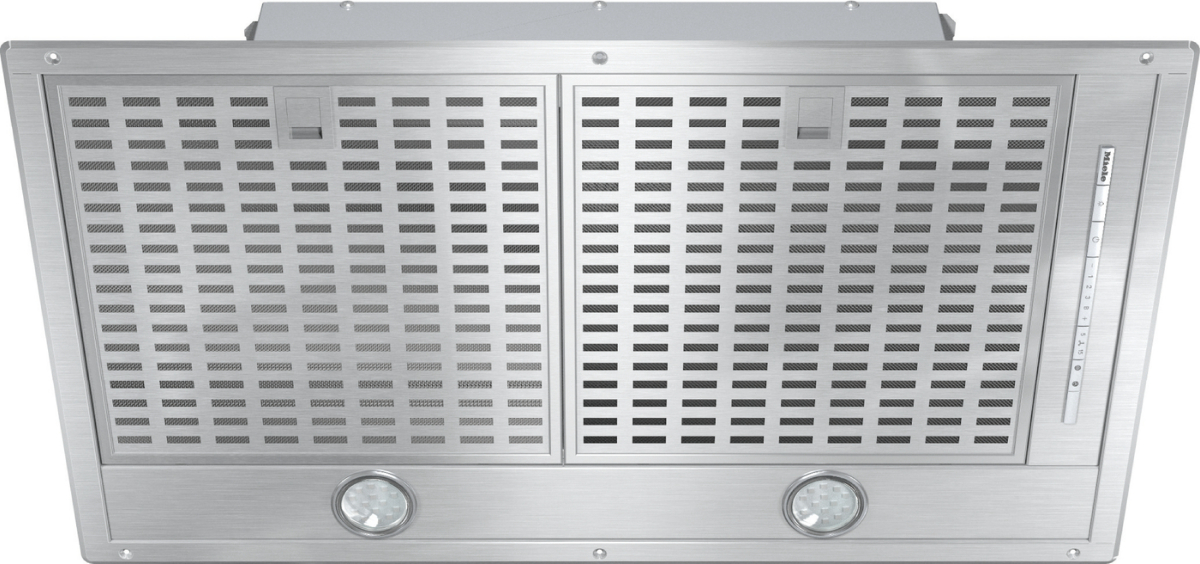DA 2578 - Extractor unit with energy-efficient LED lighting and light-touch  switches