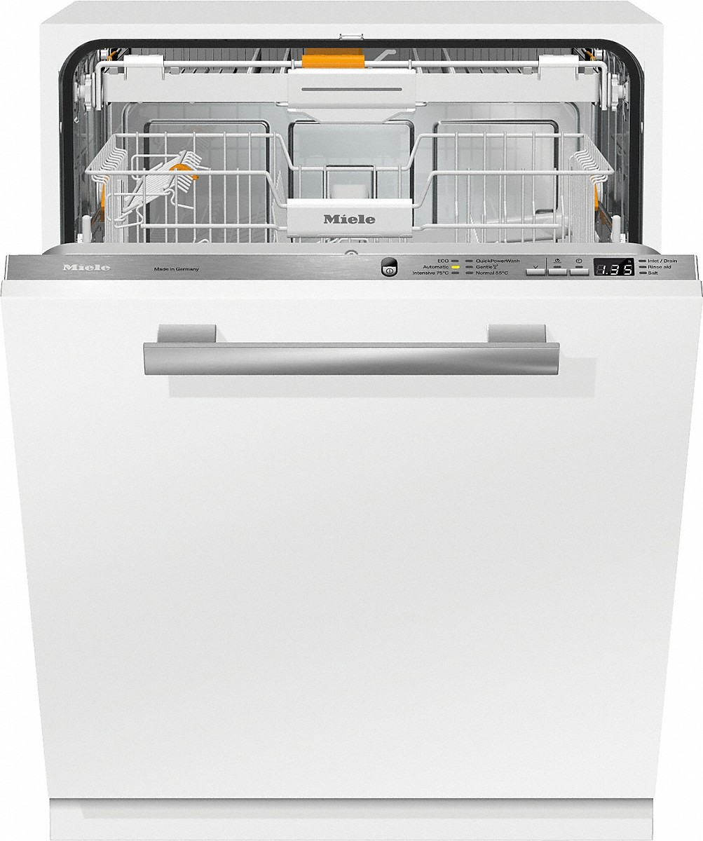 miele g 6660 scvi fully integrated dishwashers. Black Bedroom Furniture Sets. Home Design Ideas