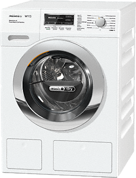 WTZH130 WPM PWash 2.0 & TDos XL - WT1 washer-dryer