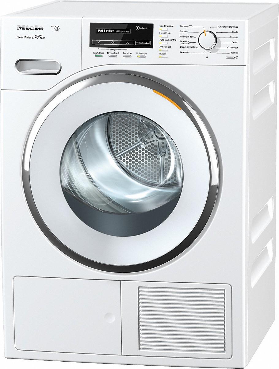 miele tmg840 wp sfinish eco t1 heat pump tumble dryer. Black Bedroom Furniture Sets. Home Design Ideas