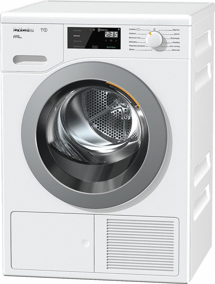 miele tcf620wp eco t1 heat pump tumble dryer. Black Bedroom Furniture Sets. Home Design Ideas