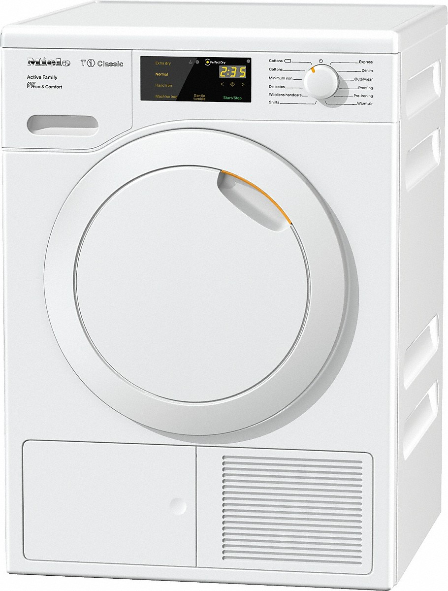 miele tdd220wp active family t1 classic heat pump tumble dryer. Black Bedroom Furniture Sets. Home Design Ideas