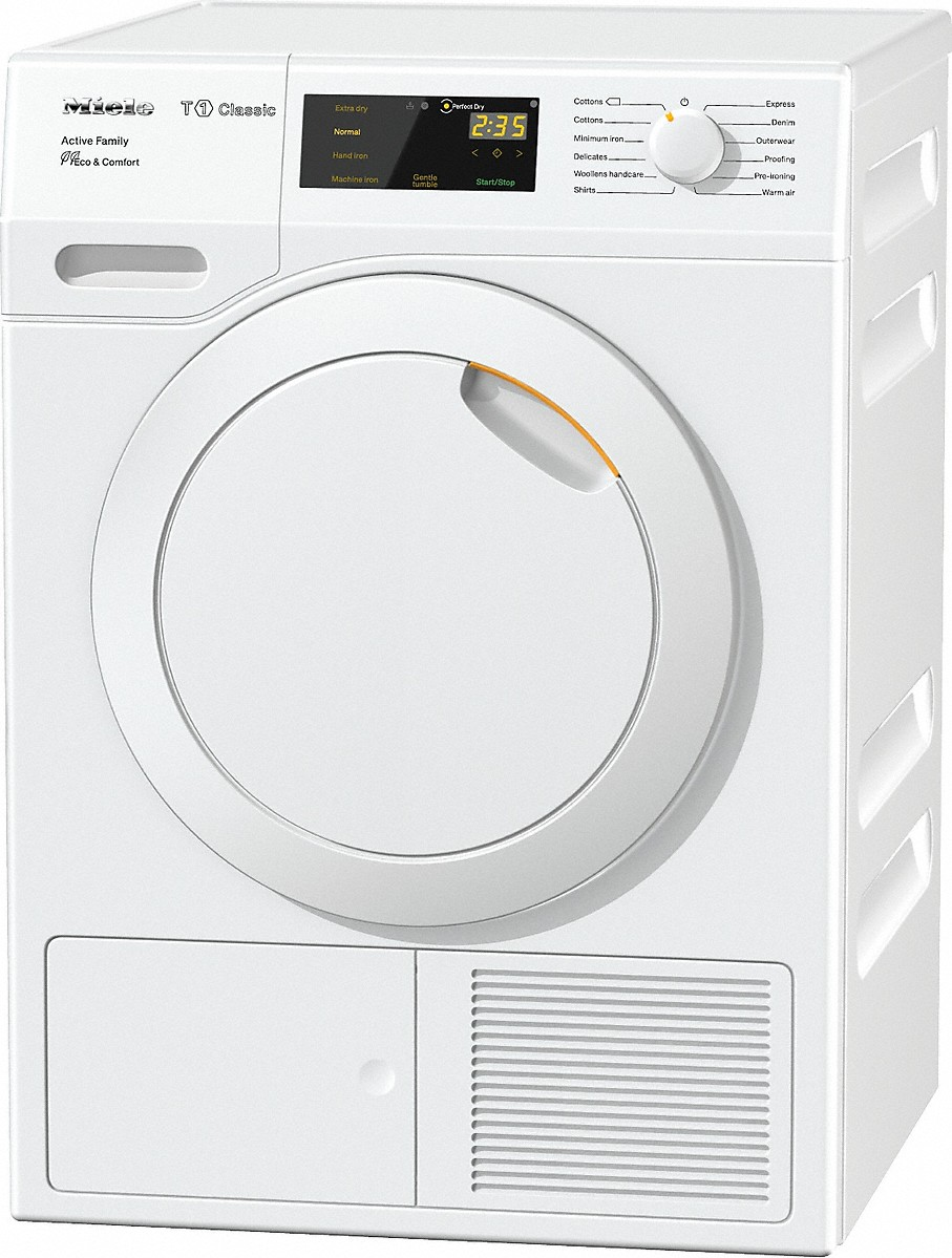 miele tdd230wp active family t1 classic heat pump tumble dryer. Black Bedroom Furniture Sets. Home Design Ideas